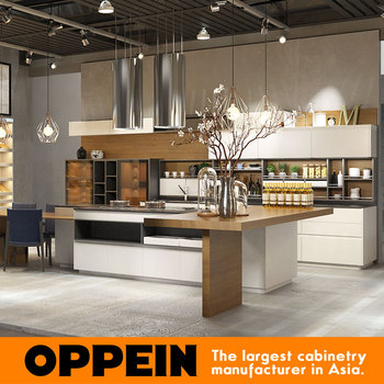 oppein italian design luxury modern kitchen cabinets from china