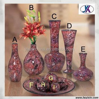 Wholesale For Flower Arrangements Tall Mosaic Glass Useful Flower