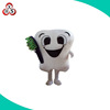 Star wolf soft plush boy and girl mascot costume,tooth mascot costume