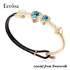 2017 Fashion Bracelets Piercing Heart Crystals From Swarovski Bangle Bracelet Hot Sell