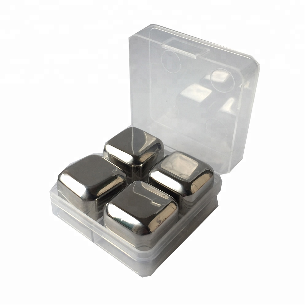 High quality small stainless steel ice cube tray for <strong>wine</strong>