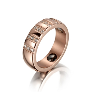 Factory bulk sale 3161 stainless steel jewelry latest gold finger rings  designs smart ring