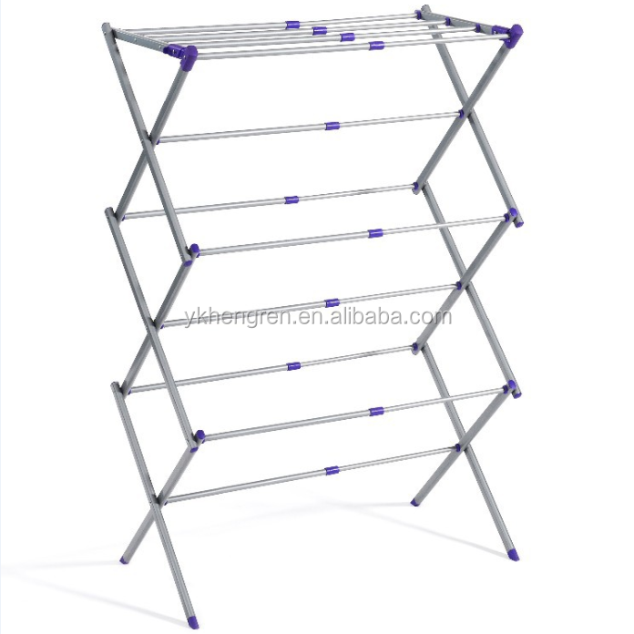 foldable clothes drying rack/ Folding Clothes Drying Rack Clothes Dryer for Laundry