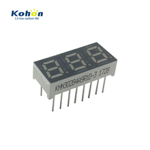Production experienced factory 3 digits mini 0.3 inch 7 segment led display