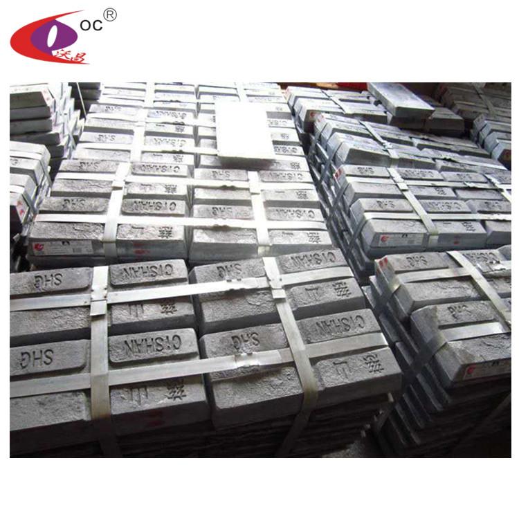 Горячая продажа SHG чистый цинк слиток 99,995 цена