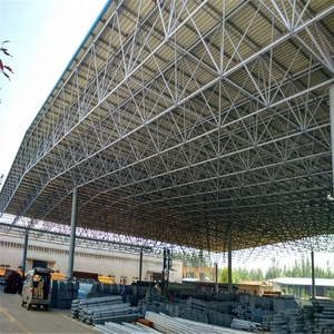 Factory price very cheap petrol station steel structure for steel space frame canopy