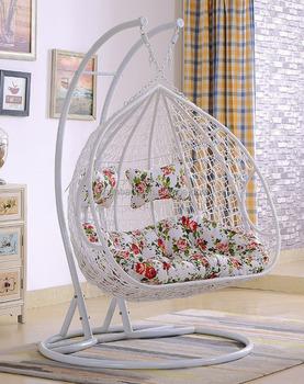 Luxury Outdoor 2 Person Garden Patio Swing Hanging Chair