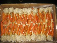 Snow Crab, section, cooked