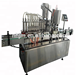 Trade Assurance Automatic linear filling machine for glass and plastic bottle liquid filling capping 10 head filling machine