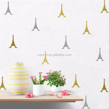 Eiffel Tour De Enfants Chambre Stickers Muraux Decoration Amovible
