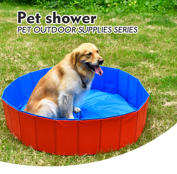 Cool Summer Funny Pet Bath Pool,foldable Pet Swimming Pool,PVC Foldable Large Inflatable Dog Swimming Pool