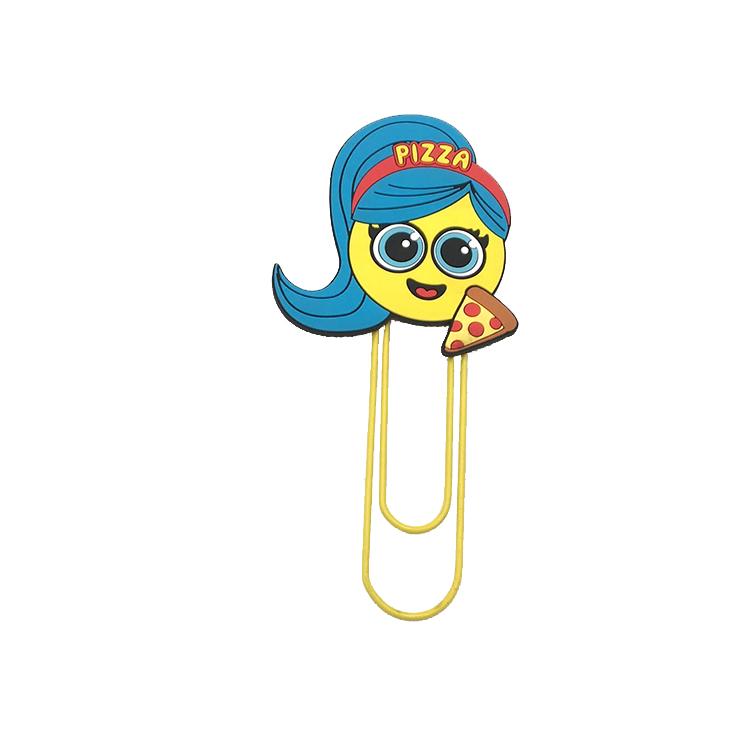 Wholesale custom high quality cartoon unique Soft pvc clip