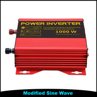 1000W 1KW 12VDC To 230VAC DC AC Solar Home Lighting System Power Inverter