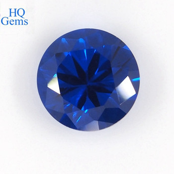 Hot Sale Usa Lab Created Blue Spinel 113# Sapphire Gemstone
