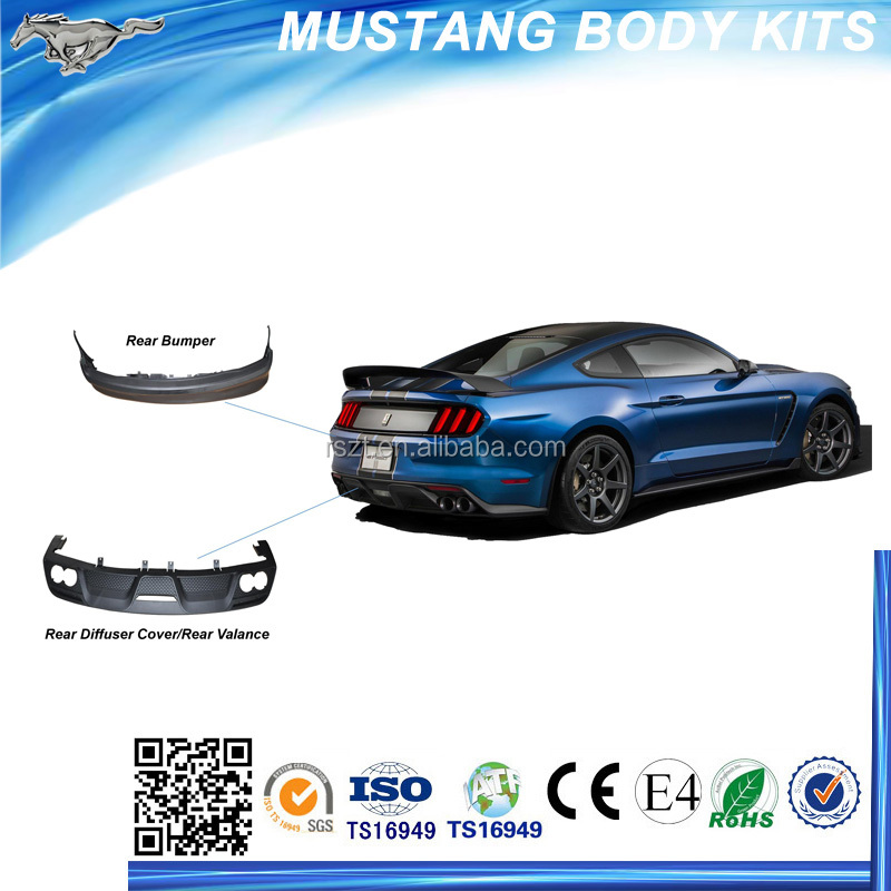 Rear Body Kits for modifing into mustang shelby gt350