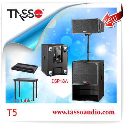 T5 sets Professional power amplifier micro system sound speaker kit