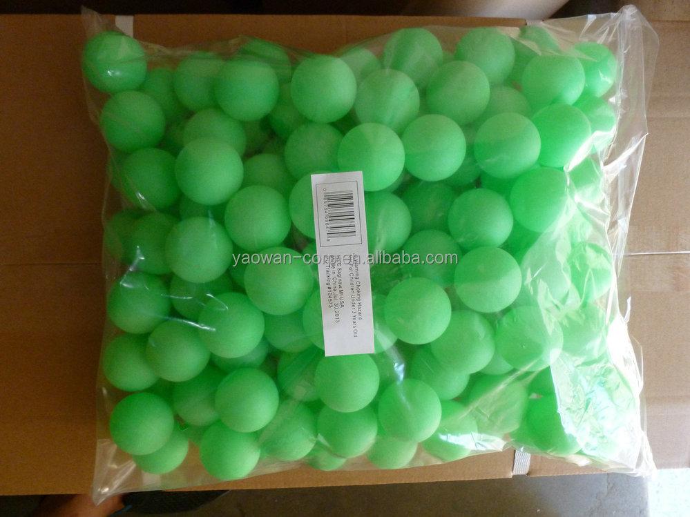Plastic Bulk Packed Ping Pong Ball Buy Plastic Bulk