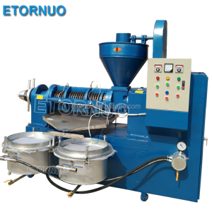 High Oil Output Both Hot And Cold Pressed Commercial Automatic Coconut Oil Crushing Machine