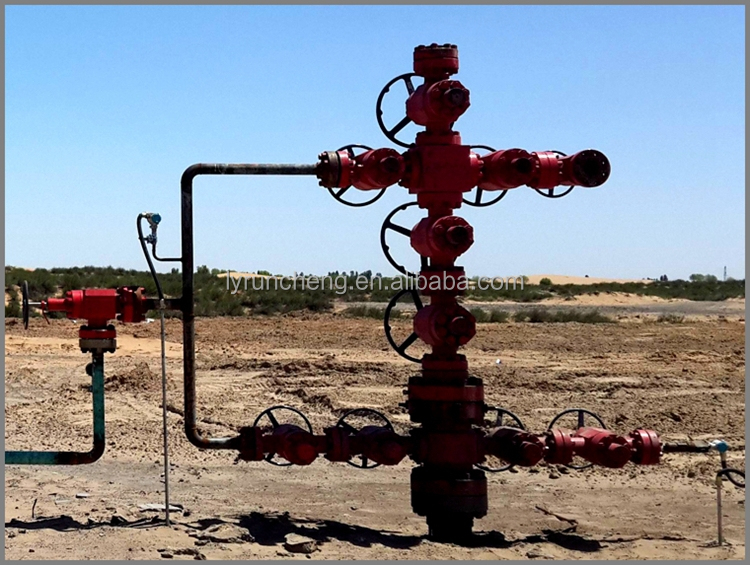 Api Wellhead And Christmas Tree Oil Well Surface Equipment ...