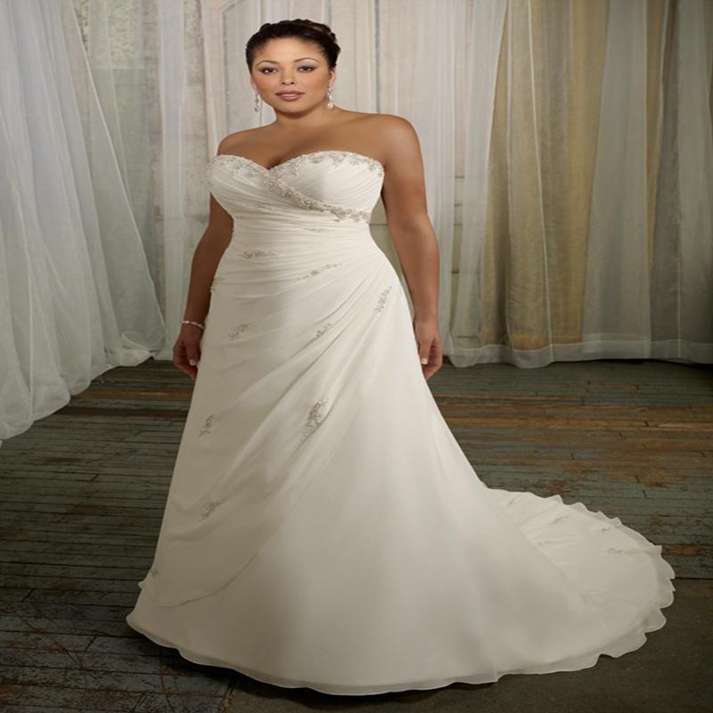 Vestido De Noiva 2015 Summer Beach Wedding Dress Plus Size