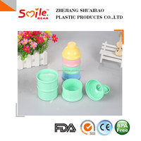 free samples available baby milk plastic protein powder container plastic bottles manufacturing