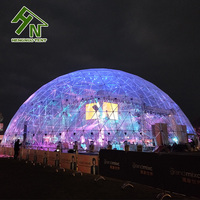 Guangzhou Big Transparent Geodesic Dome Tent For Sale