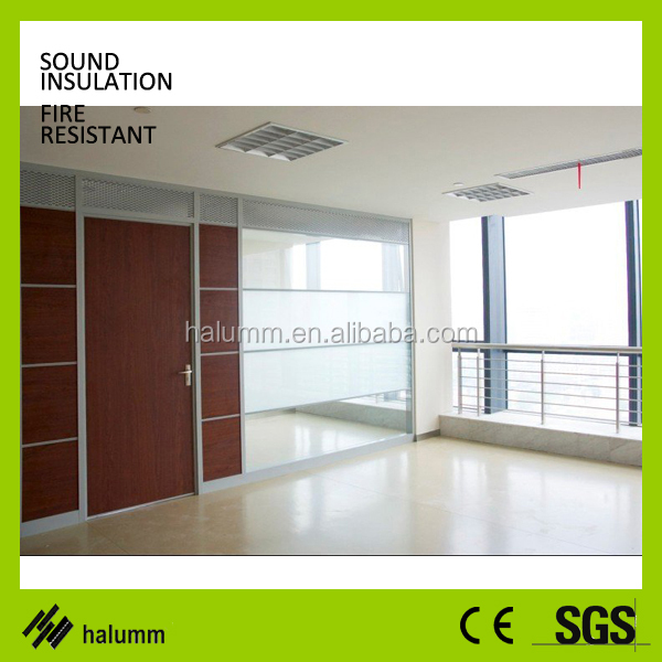 Glass Partition Wall,Solid Mdf Partition Design Walls,Sound Proof ...