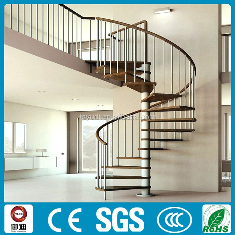 Precast Interior Wood Spiral Stairs Staircase Price Yudi Buy