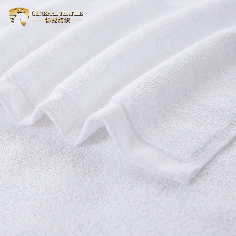 Luxury 100% Cotton Customized Embroidery hand Towel for Hotel/home/spa/gym/babershop