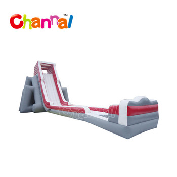 Longest inflatable water slide clearance outdoor , giant inflatable water slide inflatable slide on beach
