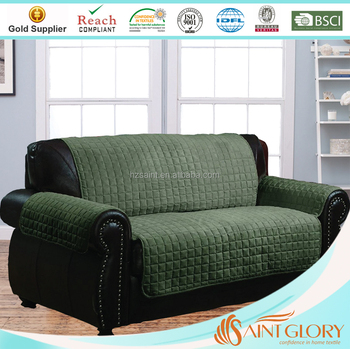Reversible Couch Slip Covers Microsuede