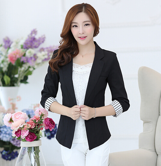 W30823H elegant slim women suit coat OL fomal suit for ladies 2015