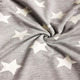 Star printed Fabric 100% cotton knitted fabric for home textiles