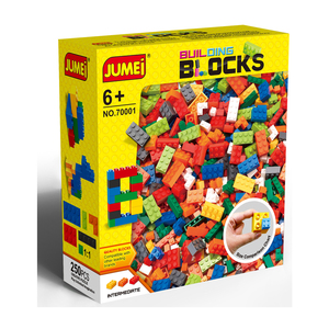 boys girls kids diy legoing building blocks bricks / 3d abs plastic type building block set toys 250 1000 piece building blocks