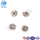 Dawei brand Hot sell new logo design high quality stock metal botton snap buttons for clothing