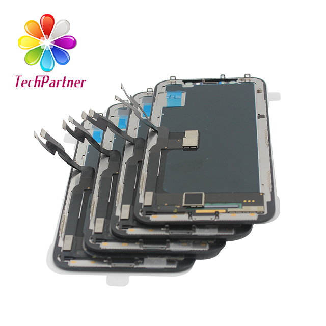foxconn qualidade oem fábrica lcd para iphone xs lcds para iphone xs digitalizador no telefone móvel lcds