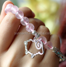 silicone bracelet pink color silicone bangles for people