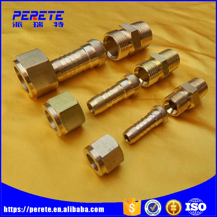 Tianjin Perete High Quality 6mm Hydraulic Hose Barb Fitting For Pipe Connection