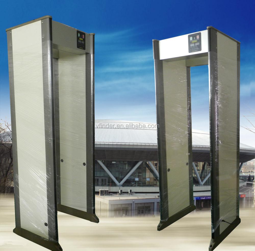 Security metal detector school - 33 Zone Security Metal Detector Walk Through Scanning Door Train Station Safe Metal Detector