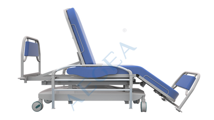 AG-XD207 CE ISO Linak electric patient blood transfusion theatre dialysis chair wholesale price