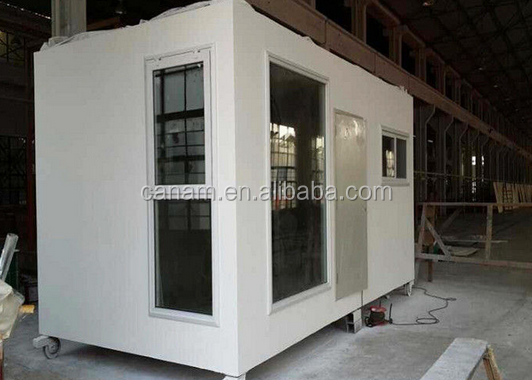Steel prefabricated modular iron structure houses