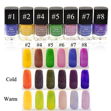 1 Bottle 6ml Born Pretty Color Thermal Nail Polish Varnish Temperature Color Changing Polish 4