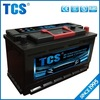 2016 Best Quality TCS 12v 100ah car battery xiamen mf 60038 agm battery car battery price