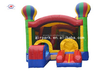 Playground Inflatable Bouncer Castle / air house with Slides for sale