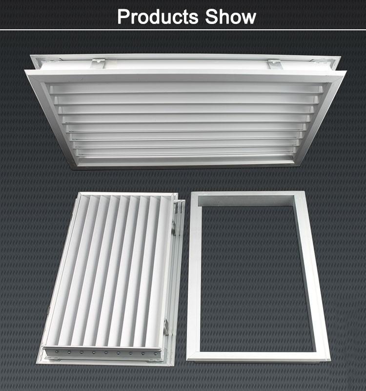 Wood Door Vent Grille : High quality decorative aluminum ventilation return air