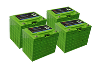Green power 12v 200ah lifepo4 battery pack with built-in bms for 12v lithium battery 100ah and li-ion battery pack 12v