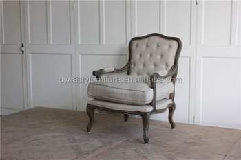 Royal Classic Deconstructed Furniture Soft Single Arm Sofa Chair