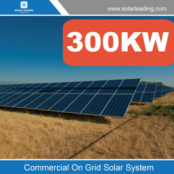 Commercial 300kw Solar Power System For Industry Use