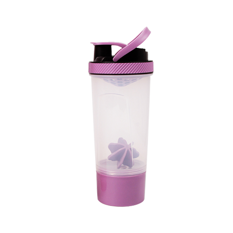 600ml sport  plastic drinking joyshaker water bottle