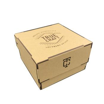 Natural Brown Decorative Cardboard Gift Boxes Ce Certification Eco Friendly View Paper Box Manufacturer Oem Product Details From Shenzhen